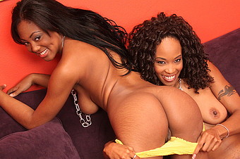 Black On Black Lesbian Pussy And Clit Play