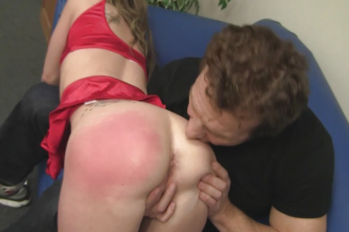 The Naughty Girl's Guide To Ass And Pussy Spanking.