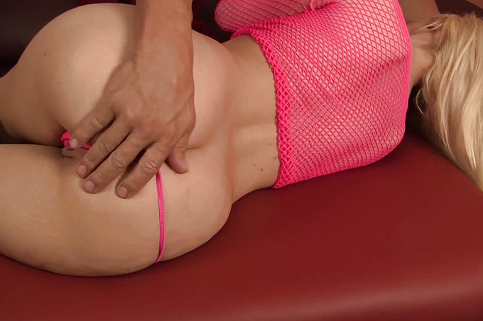 Alexis Gets More Than She Expected From Her Massage.