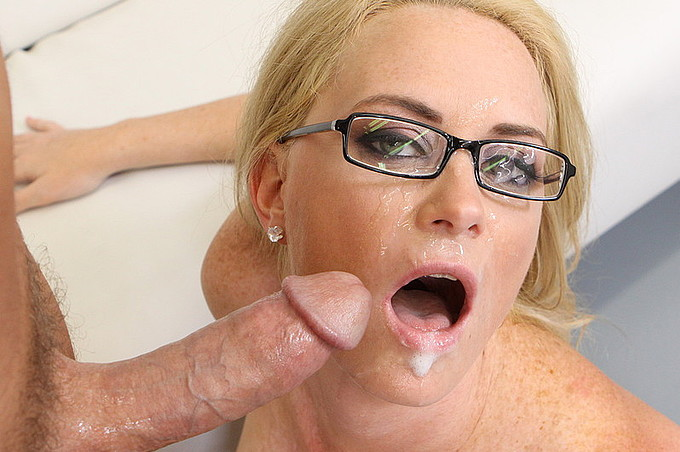 Cock Starved Office Slut Pumped By Angry Customer