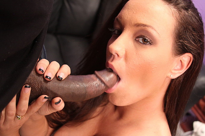Stripper Kandy Kash Mounts The Big Black Julius Ceazher