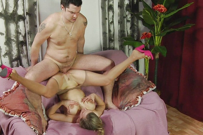 Anton Bends Over And Drills Curvy Marina