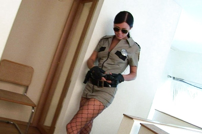 Officer Milana Strips Down To The Basics