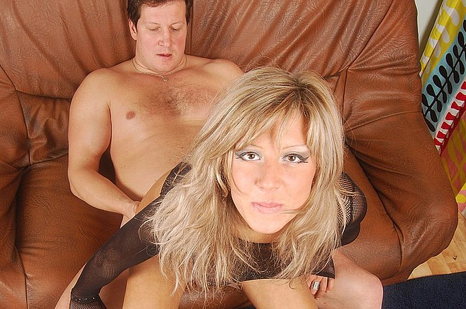 Wild Blonde Milf Olga Does It All With Alex