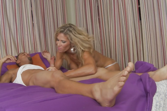 Sabal La Roc Gets Her Cunt Fucked Hard By Jonny Slim