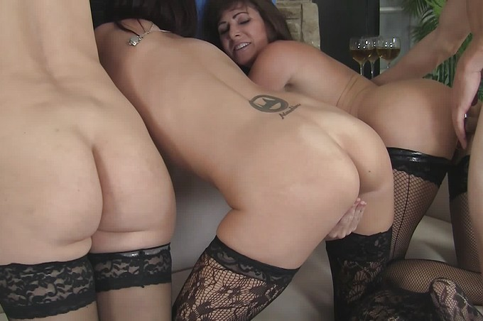 Three Busty Women Please Romeo Utterly And Completely