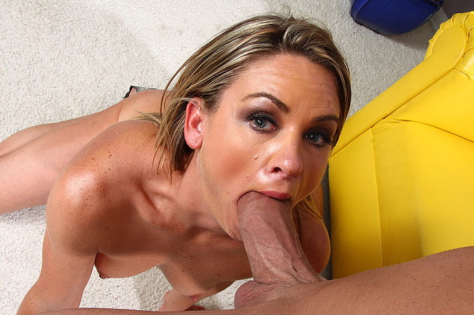 Billy Glide Loves Younger Women Sucking His Hard Dick