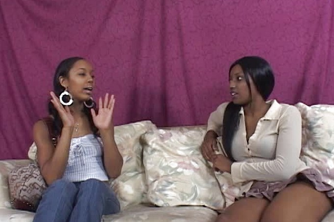 Misty Stone And Belle Have A Steamy Lesbian Encounter