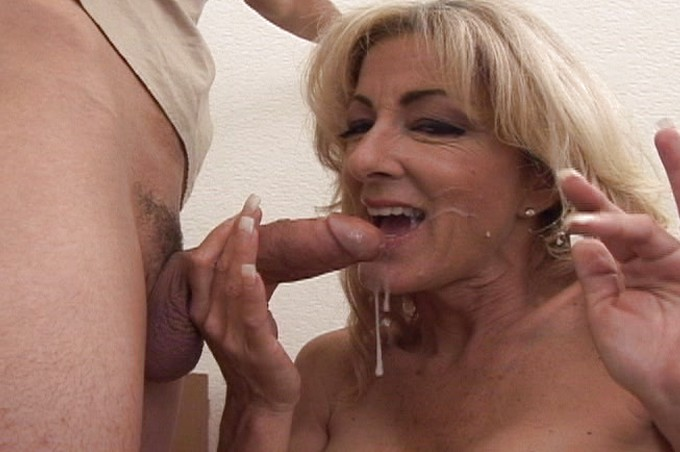 Sexy Milf Fucks Her Young Employee In The Office