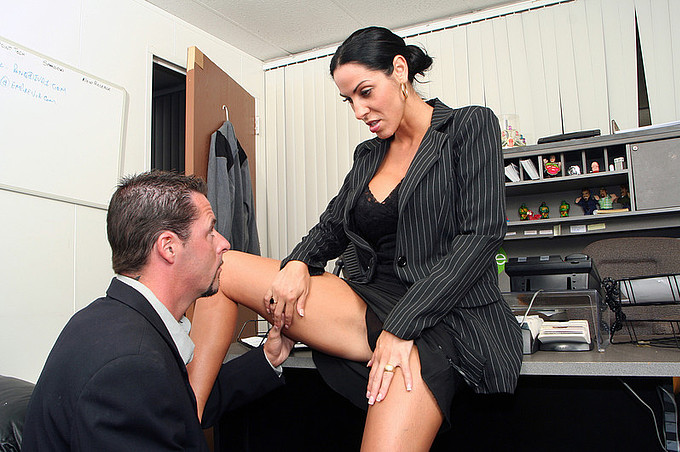 veronica rayne and jack vegas have some hot fun in the office
