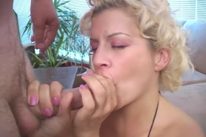 Busty Blond Tiffany Gives Her Best Blow Job Ever