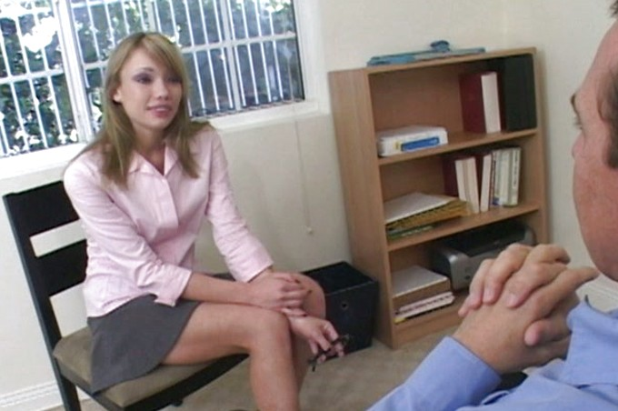 Scott Interviews A New Young Secretary For The Job