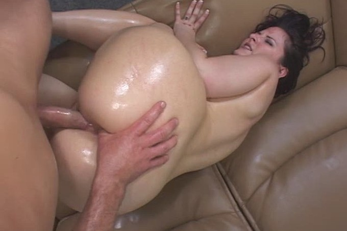Hot Oild Makes For The Hotter Action She Wants