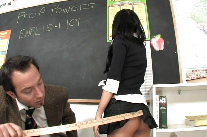 Stephanie Cane Uses Her Pussy To Get An A In Class