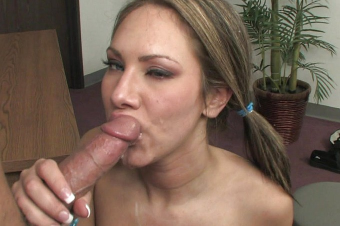 Naughty Schoolgirl Camryn Kiss Takes Her Principal's Cock