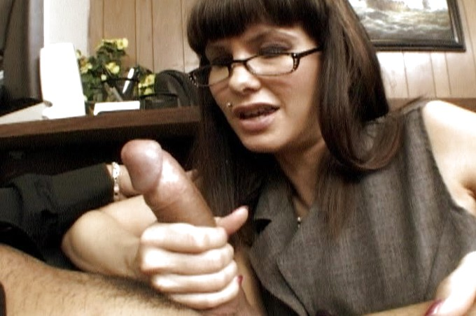 Sexy Lady Boss Demands More From Her Employee