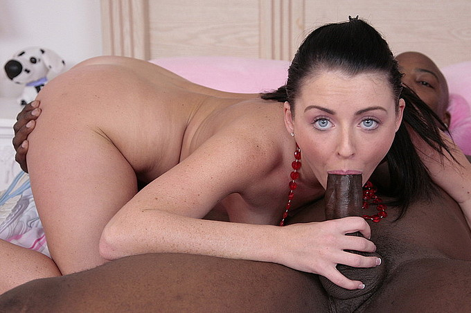 Sophie Dee Gets Some Black Meat To Fill Her