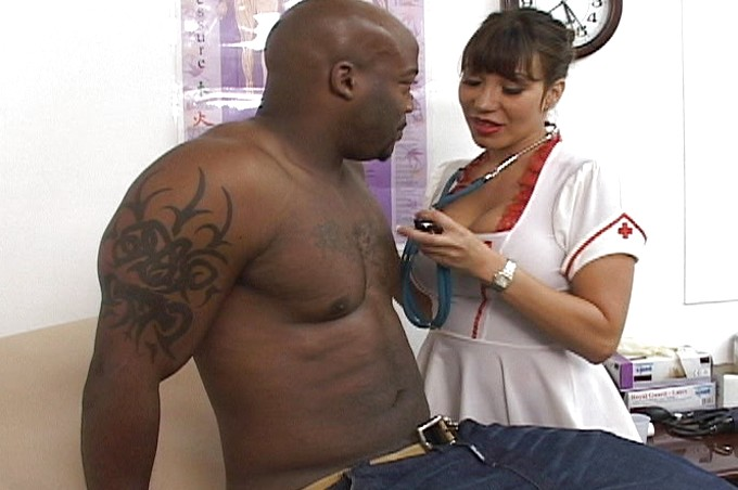 Nat Goes In For A Checkup But His Nurse Wants His Cum