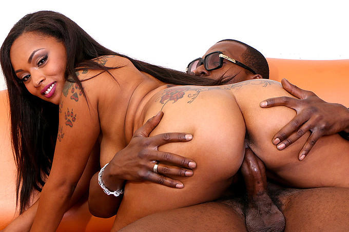 Gorgeous Dime Piece Porsha Creampied To the Max