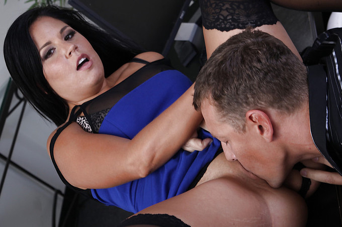 Passionate Office Fucking For Missy Maze