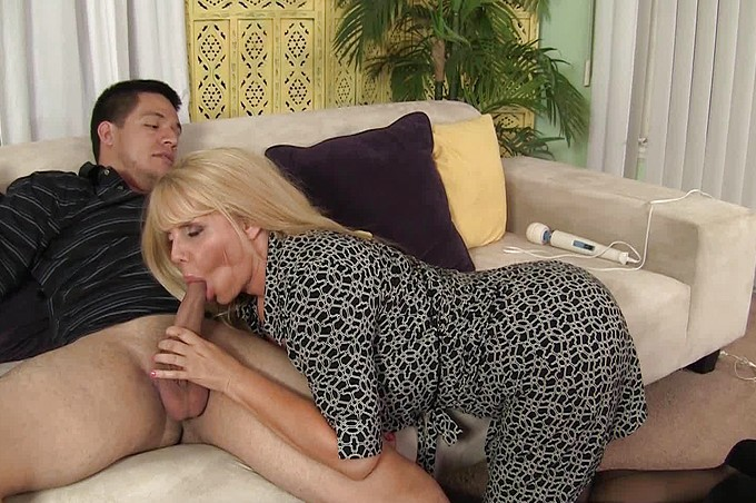 Sexy Milf Wants More Help Than A Vibrator To Get Off