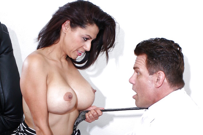 Sabrina Sanchez Milf Boss Fucked By Dick Delaware