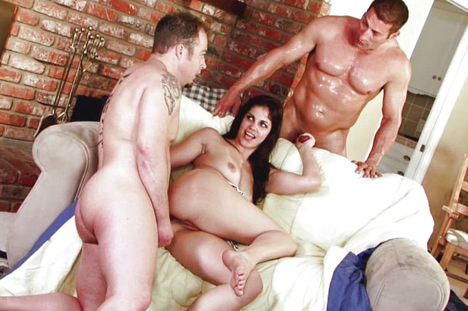 Bobbi Starr Gets Double Teamed By John West And Jenner