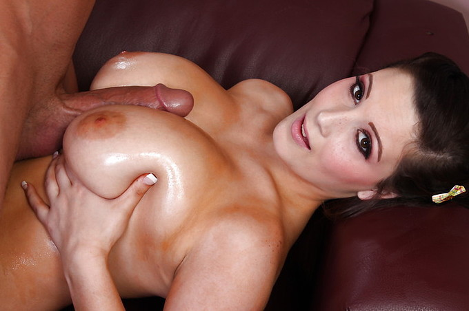 Billy Glides Right Into Noelle Easton's Pussy