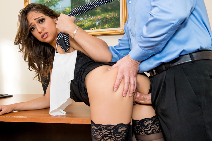 intern sara luvv fucks her way up the corporate ladder