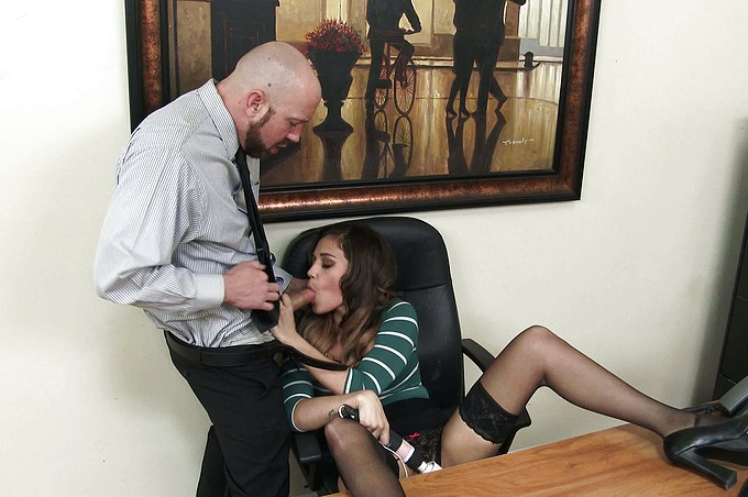 Office Babe Devyn Heart Gets Fucked By Employee in Secret!