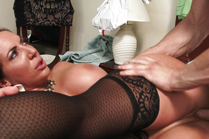Richelle Ryan Seduces Her Step-Son in His Own Bedroom